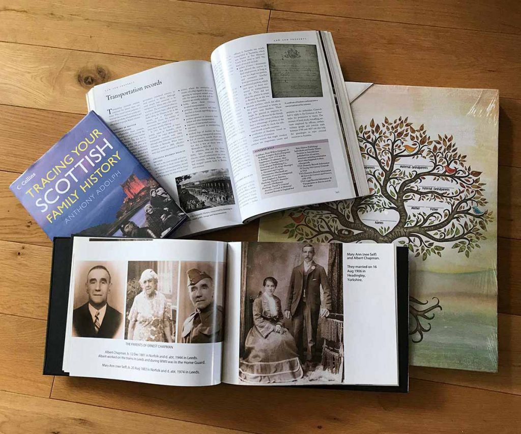 Family Tree Packages by Sarah