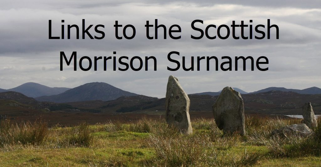 The meaning of the Morrison Surname
