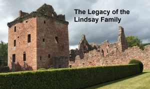 Edzell Castle - the home of the Lindsay Family